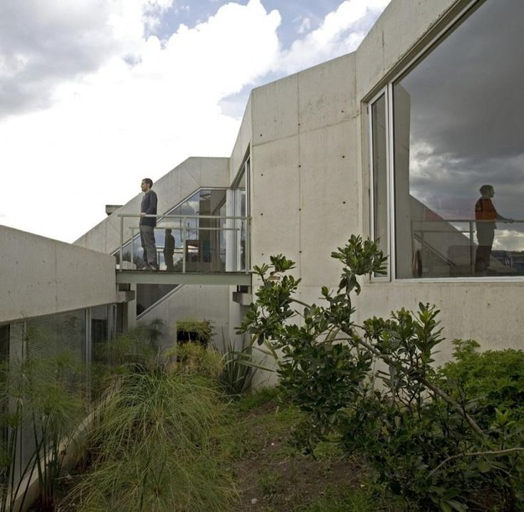 House On A Steep Hill Green Living Roof