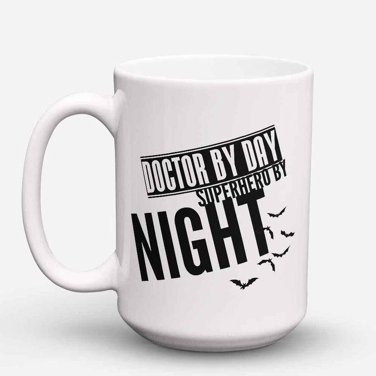 """Limited Edition - """"Superhero Doctor"""" 15oz Mug"""
