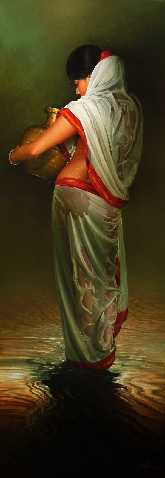 Amit Bhar, 1973 | Abstract Watercolor painter | Tutt'Art@ | Pittura * Scultura * Poesia * Musica |