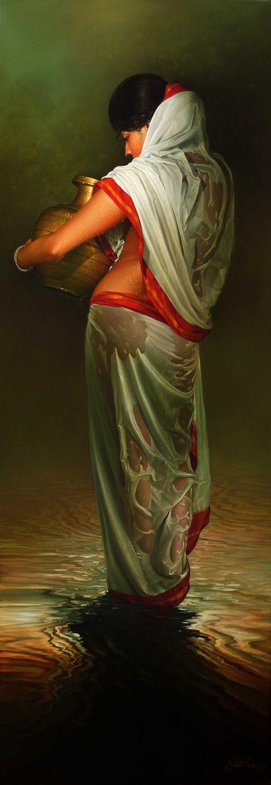 Amit Bhar, 1973 | Abstract Watercolor painter | Tutt'Art@ | Pittura • Scultura • Poesia • Musica