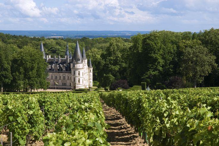Fairytale Chateau Nozet in the Loire Valley in France #FairytaleCastle #Vineyards www.bcfw.co.uk