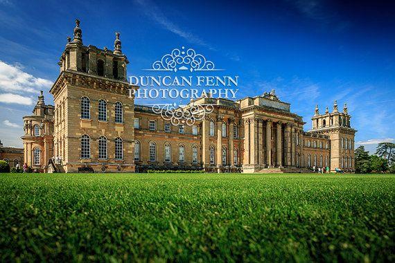 Blenheim Palace, Oxfordshire, England | Fine Art Photography | Wall Art Print