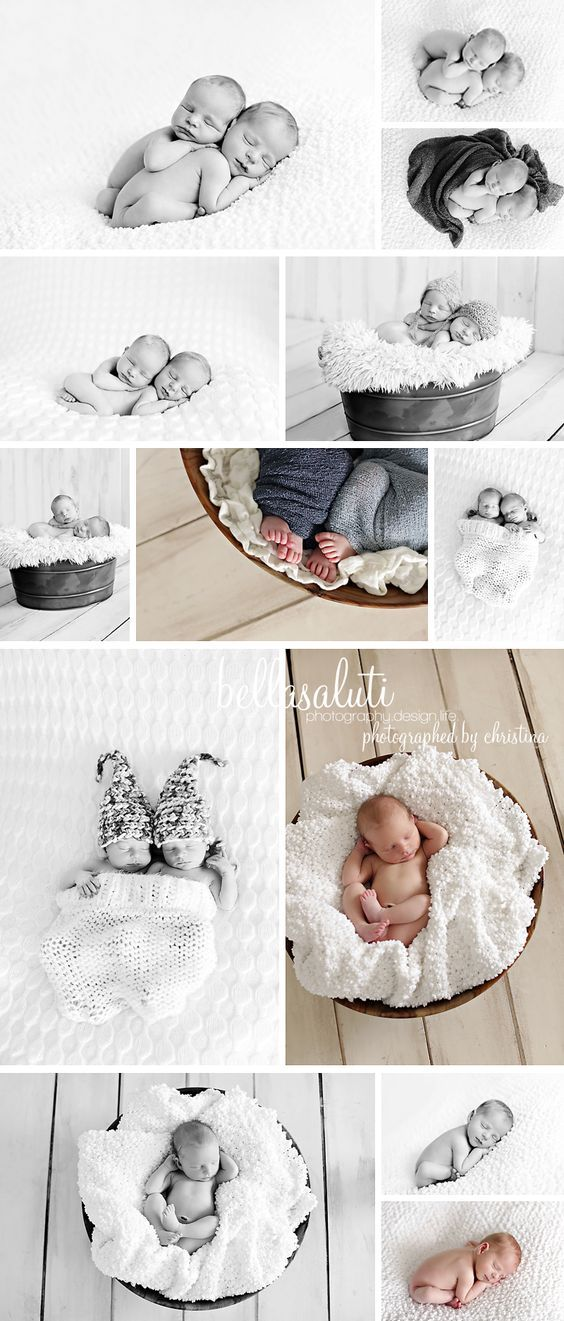 Twin Newborn Photographer | Brothers | bellasaluti.com/the journal