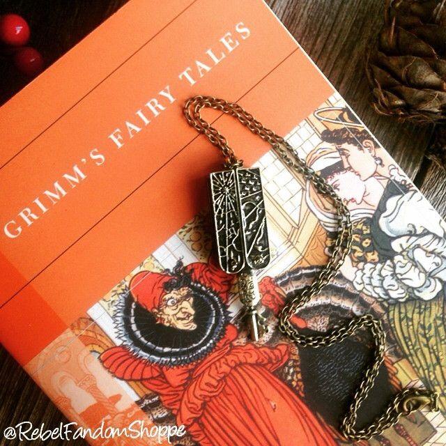 Grimm Key Pendant