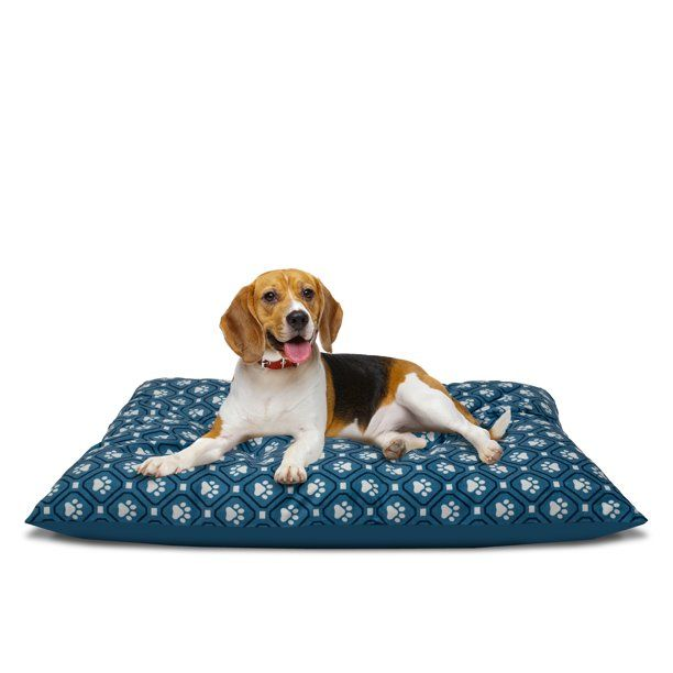 Vibrant Life Pillow Style Dog Bed For Large Dogs Large Peach Walmart Com Animal Pillows Dog Stairs Pets