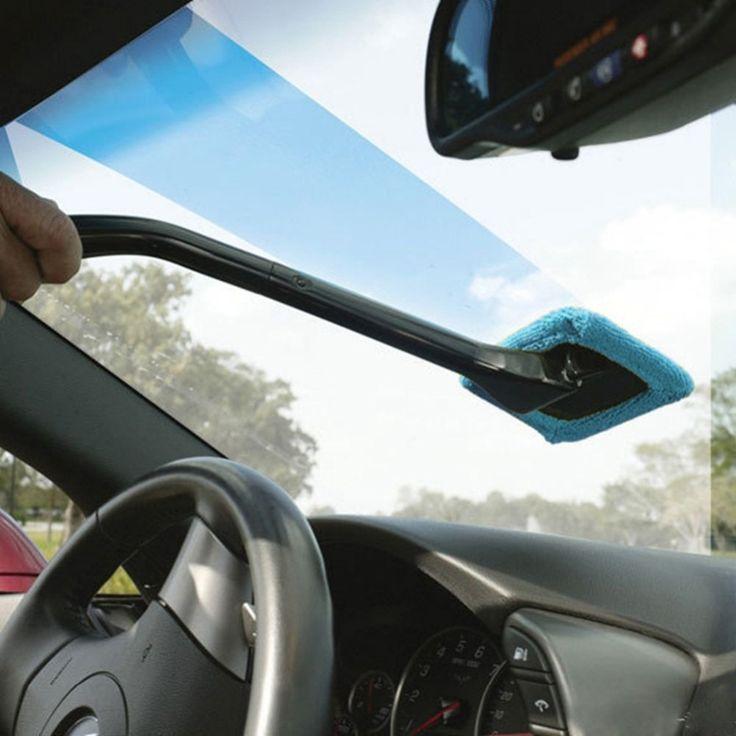 Nueva Microfibra Auto Limpiador de Ventanas Parabrisas Rápido Fácil Shine Cepillo Cepillos De Limpieza Lavable A Mano Herramienta de Limpieza De Alta Calidad