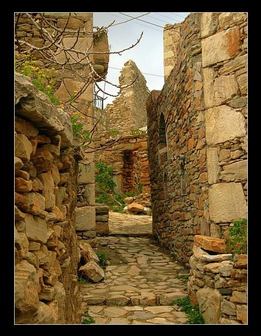 A path to history - Vathia, Lakonia