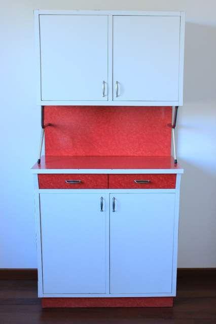 Credenza vintage anni 60-70 in formica rossa... a Vicenza - Kijiji: Annunci di eBay