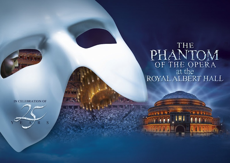 The Phantom of the Opera celebrates its 25th anniversity