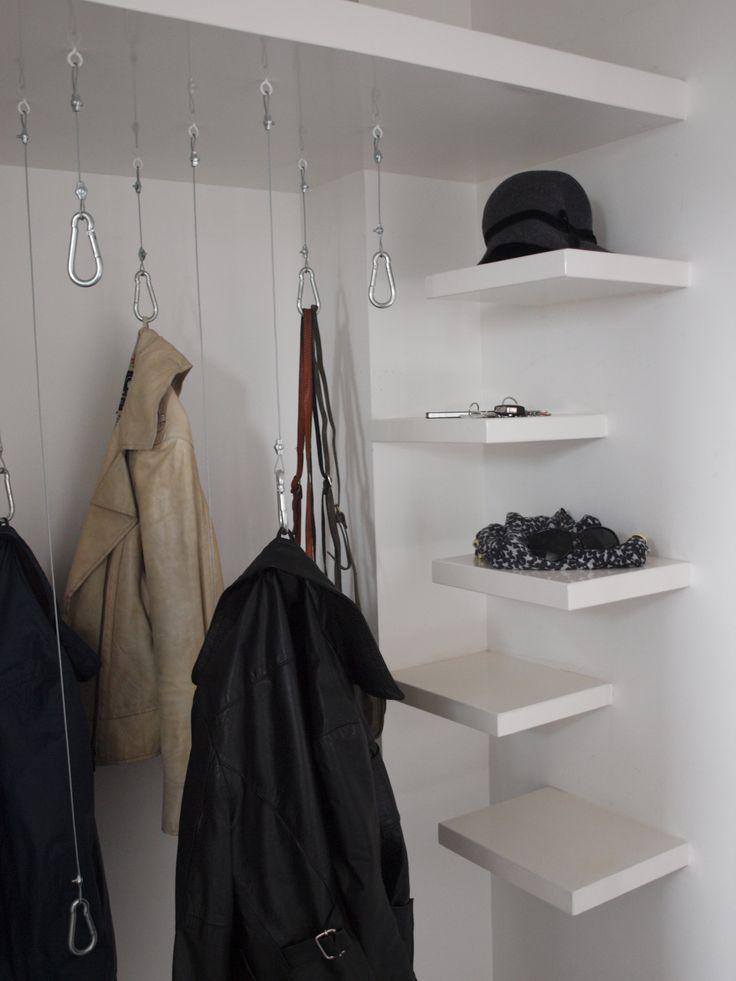 ontwerp garderobe IRMA woonprojecten,  #interieur, #architectuur #interior