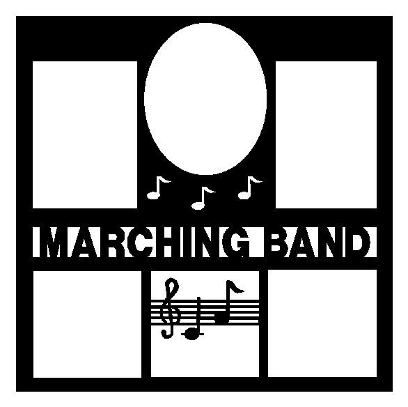 marching band scrapbooking ideas