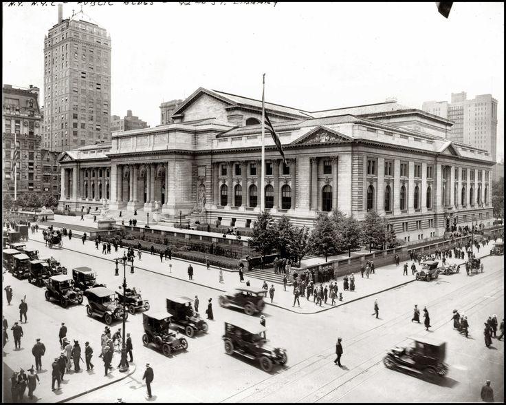 New York Public Library 1915