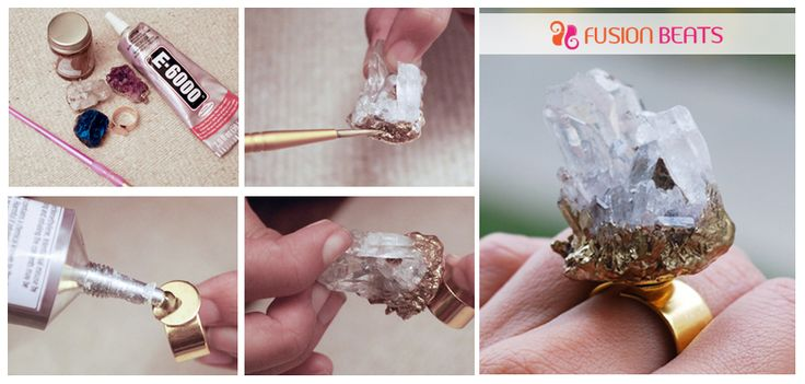 Create these super cool finger #rings in just few minutes.