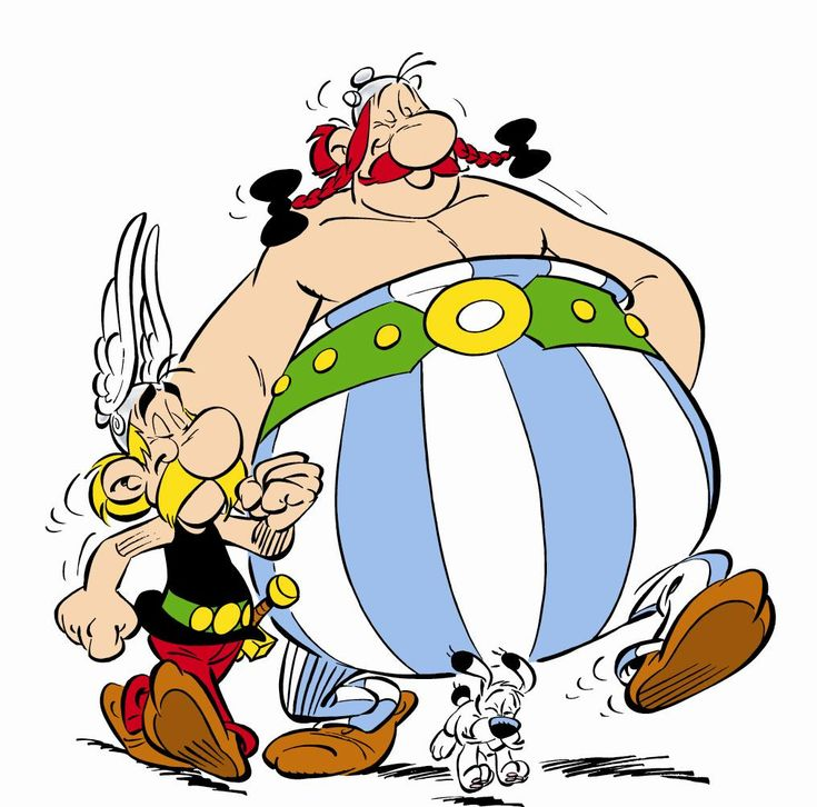 Asterix and Obelix and Dogmatix