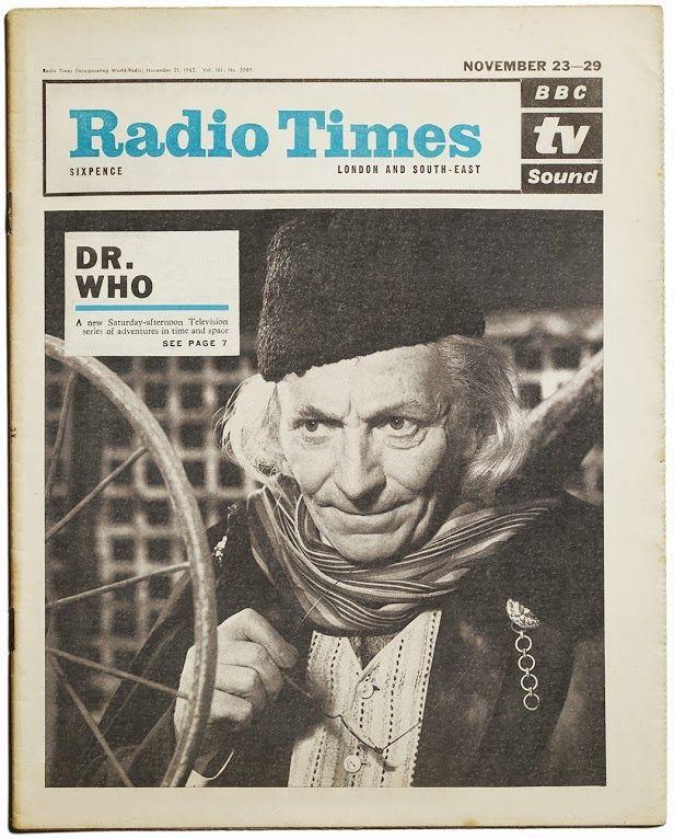 Vintage RADIO TIMES cover