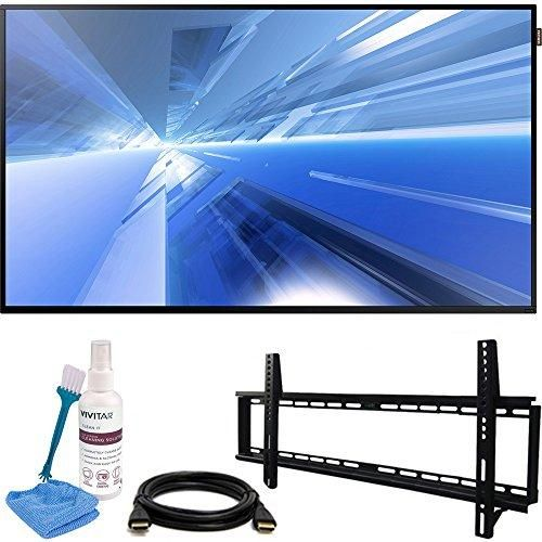 "Samsung Dm-E Series 55"" 1920x1080 Slim Direct-Lit LED Commercial Display (DM55E) with Vivitar 32-65"" Low Profile Wall Mount Kit Includes 6' HDMI Cable & Screen Cleaning Kit"