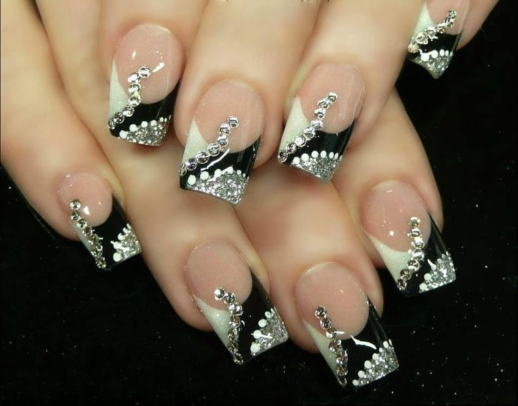 25 unique nails for new years ideas on pinterest nail ideas 38 amazing nail art design for your christmas new years eve prinsesfo Choice Image