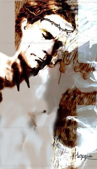 """Digital Art di Selvaggia  """"La passione secondo Pasolini"""""""
