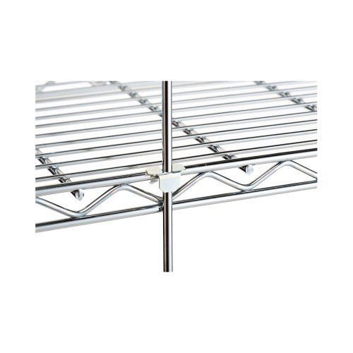 "Metro Rod & Tabs for Erecta Shelf Shelving by Metro. $9.20. Each Rod Comes with Enough Tabs for (4) Shelves. For Erecta Shelf 63-1/2"" Upright Posts. Chrome Finish. Ship Weight: 1 lb.. Rod Length: 61"". Metro Rod & Tabs for Erecta Shelf ShelvingThe rods hook over the wire of the top shelf and then can be attached to the other shelves with a spring-clip tab. Each rod requires one tab, except for top shelf..Rod Length: 61"" Ship Weight: 1 lb. Chrome Finish For Erecta ..."