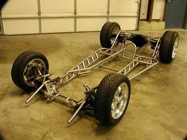 Tubular Chassis 01 Transporte Custom Cars Kit Cars Y