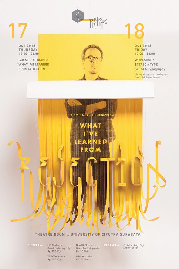 What I've Learned From Rejection by Thinking Room, via Behance