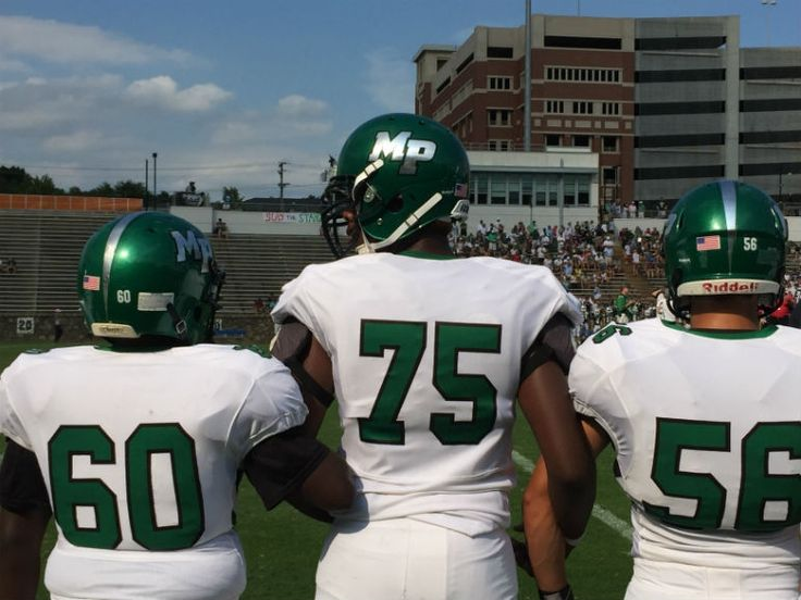 Myers Park against Charlotte Country Day   Charlotte, NC High School Football