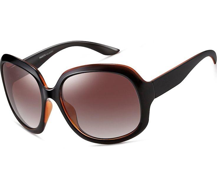 ATTCL Women's Oversized Women Sunglasses Uv400 Protection Polarized Sunglasses,3113 Brown