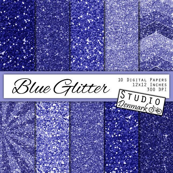 "Sparkly craft 10pk Midnight Blue Glitter 12/"" Card Bright Blue Glittery Paper"