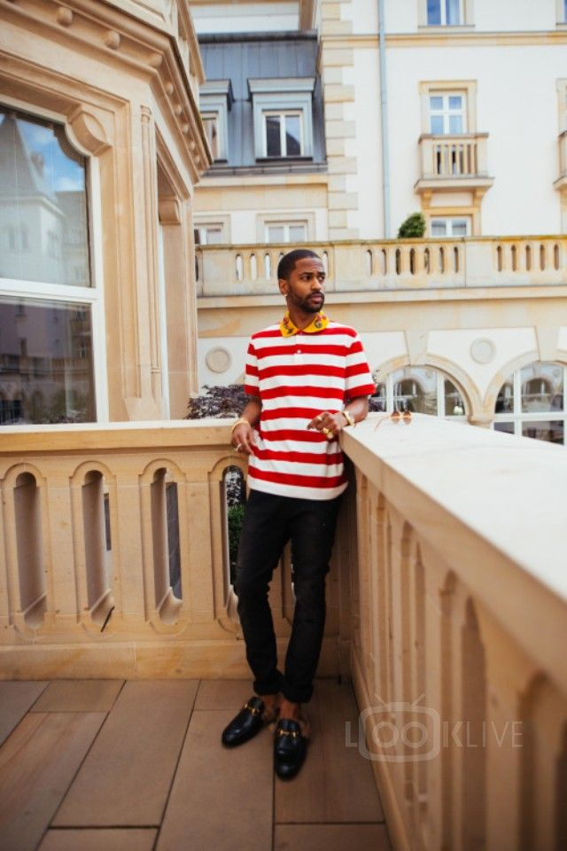 Big Sean - Poses in Germany while on tour overseas