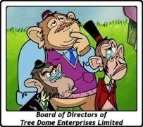 Board of Directors of Tree Dome Enterprises Limited / Dr. Marmalade / Lord Reginald / Profesor Percy / Bob Esponja / SpongeBob SquarePants / Stephen Hillenburg / TV Serie