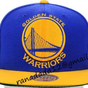 61ea3027 Golden State Warriors Mitchell and Ness NBA XL Logo Snapback Cap ...