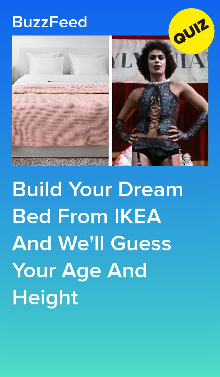 Build Your Dream Bed From IKEA And We'll Guess Your Age And