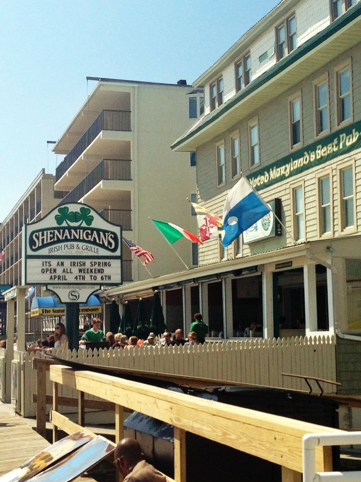 Shenanigans Ocean City Maryland