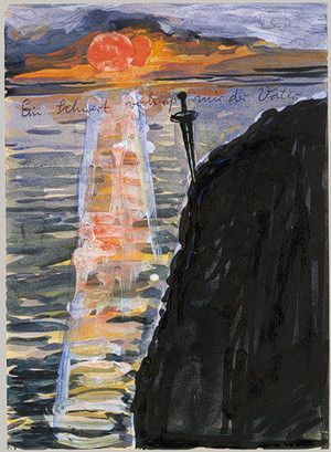 My Father Pledged Me a Sword, Anselm Kiefer (1974-75)