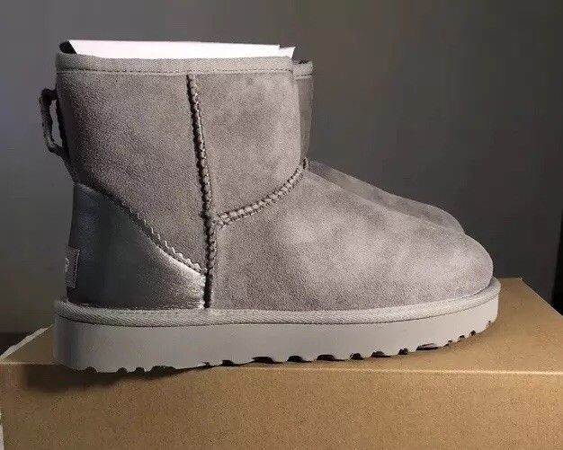 Ugg Classic Mini Ii Metallic 1019029 Seal Sz 7 100 Authentic Exclusive Style Fashion Clothing Shoes Accessories Womensshoes Ugg Classic Mini Boots Uggs