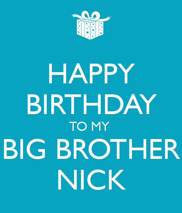 Happy Birthday Wishes To My Brother Quotes: 25+ Best Ideas About Happy Birthday Big Brother On