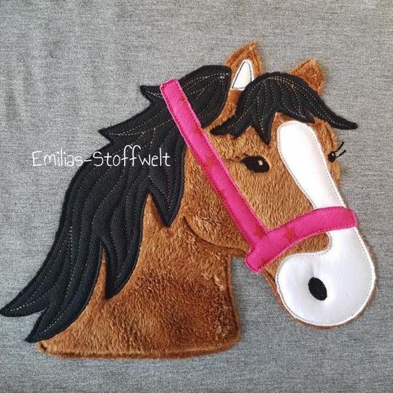 XL Pony Lulu Applikation für Mädchen Heiss geliebt bei kleinen Mädchen diese …