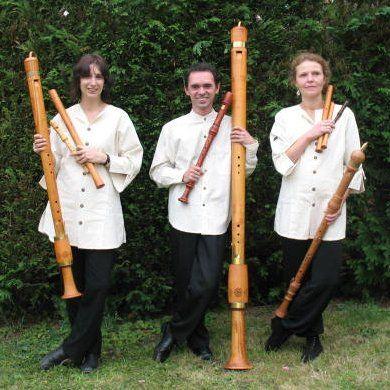 Quazzipi trio de flute a bec