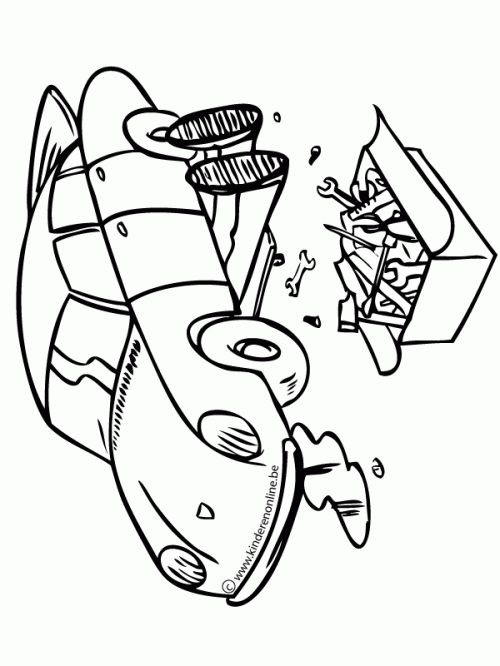 gas station coloring page - photo #22