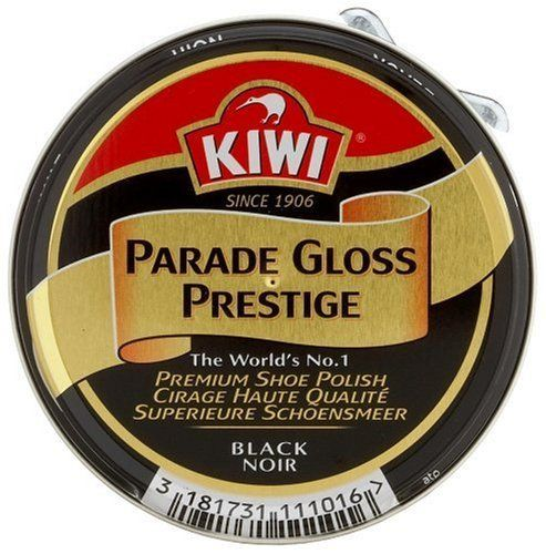 Kiwi 50ml Parade Black Boot Gloss Polish Army/Military by Kiwi. $13.38. Delivers the ultimate shine and also puts a protective layer on the boot.. Kiwi 50ml Parade Black Boot Gloss Polish Army/Military - Delivers the ultimate shine and also puts a protective layer on the boot.