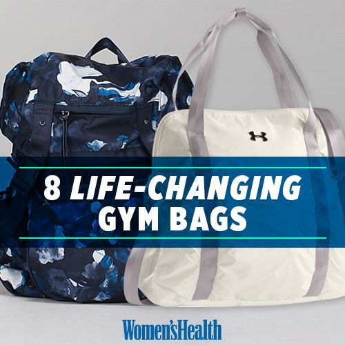 8 Gym Bags You Need in Your Life ASAP - The perfect bags for your a.m. yoga, p.m. kickboxing, and everything in between