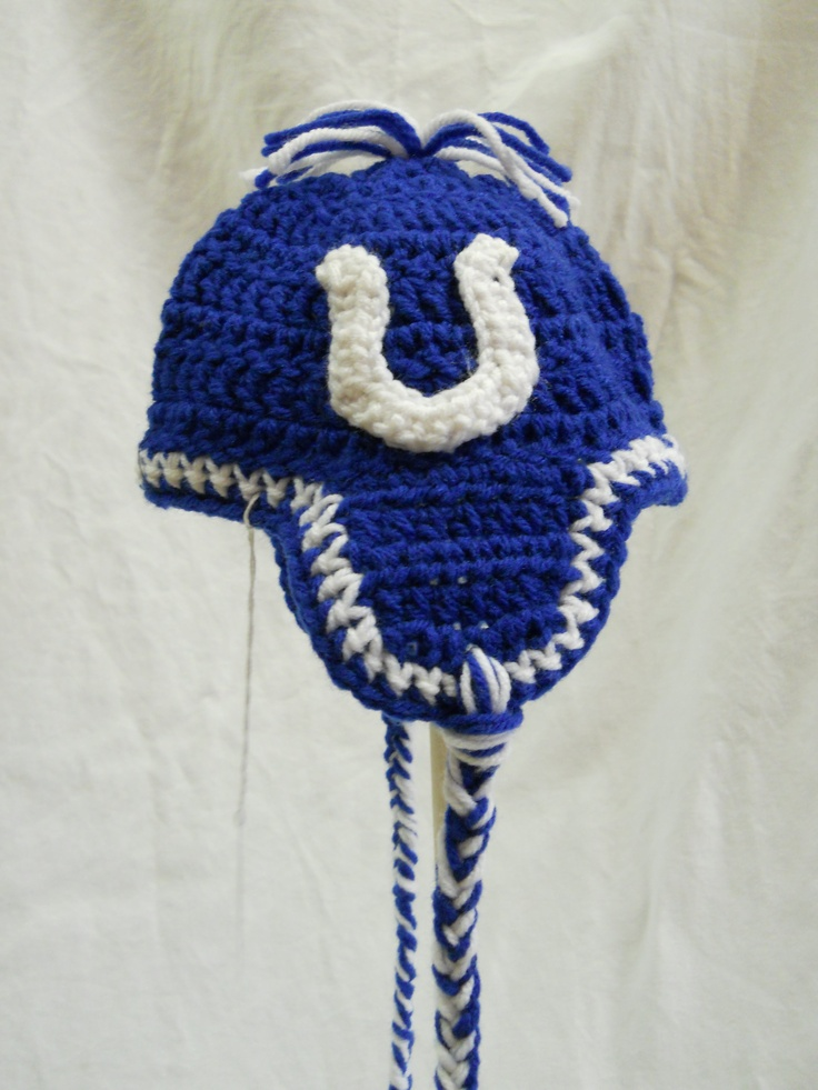 Indianapolis Colts baby hat | Colts | Pinterest