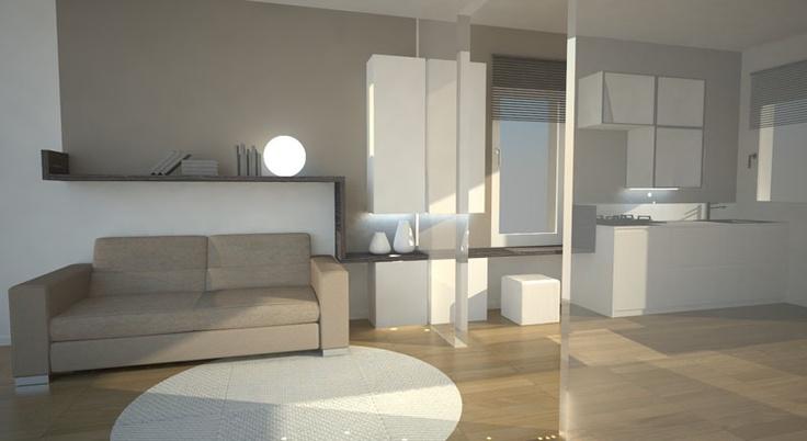 07 _ ren stato di progetto cucina soggiorno