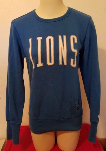 Women-039-s-S-Nike-NFL-TEAM-APPAREL-DETROIT-LIONS-Long-Sleeve-Sweatshirt