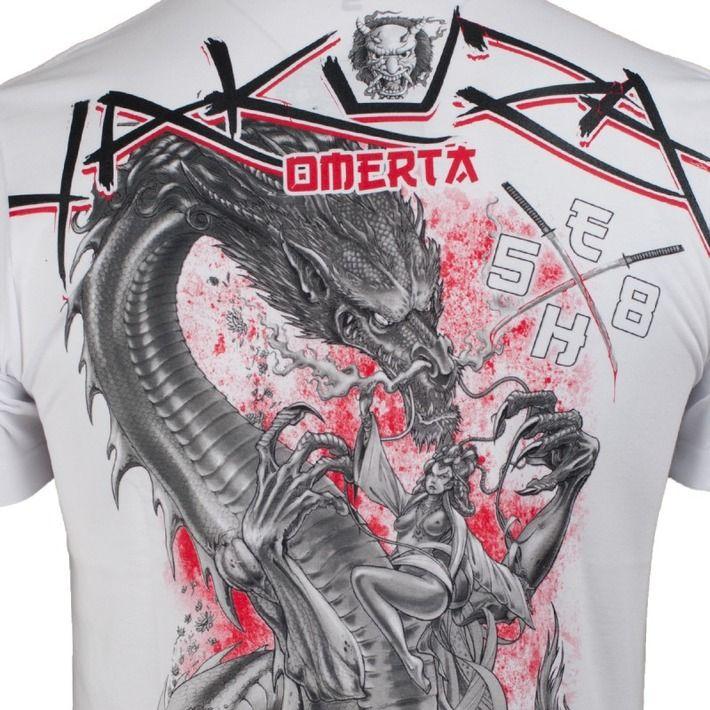 Motyw fighterski na koszulce 'Yakuza' ---> Streetwear shop: odzież uliczna, kibicowska i patriotyczna / Przepnij Pina!