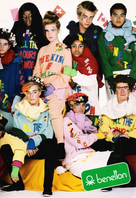 663 best images about seventeen magazine 1980 39 s on for Benetton we are colors