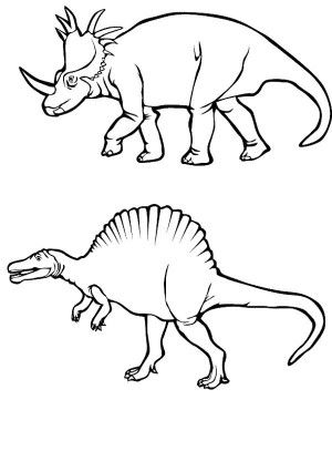 Free Coloring Pictures Of Dinosaurs : 111 best coloring images on pinterest