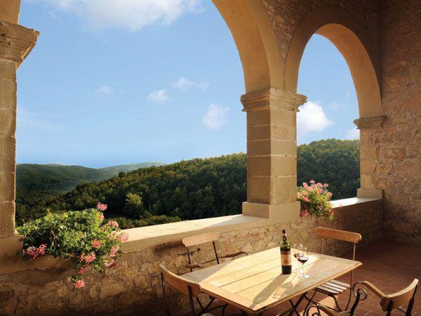 Italy Villa Rentals - Villa Rental in Radda in Chianti, Tuscany - Villa Falco Nero | Parker Villas
