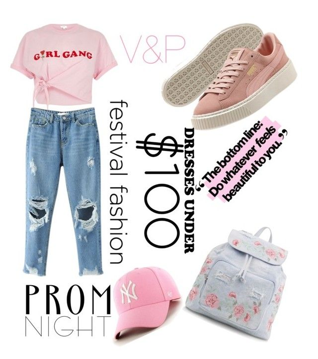 """Untitled #19"" by veronika-grabanova on Polyvore featuring River Island and New Look"