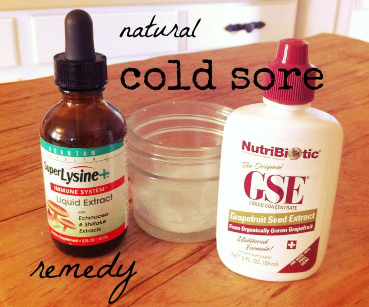 natural remedy: cold sore | lindsay leigh bentley